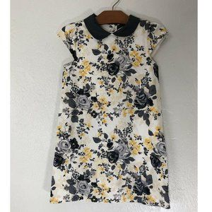 Janie and Jack Dress Floral Cap Sleeve